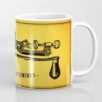 meat Mugs featuring Meat Grinder by UiNi
