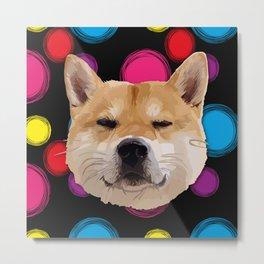Hachiko Dog Metal Print