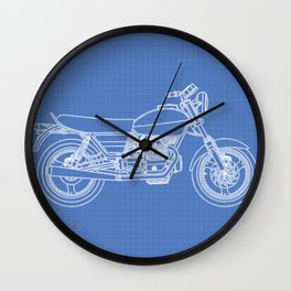 Moto Guzzi Wall Clock
