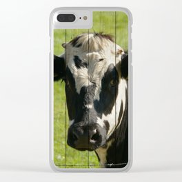 ON THE FARM Clear iPhone Case