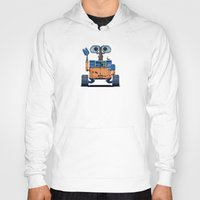 wall e Hoodies featuring Wall-e by LAckas