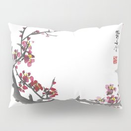 Plum Blossom One Pillow Sham