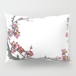 Plum Blossom One Pillow Sham