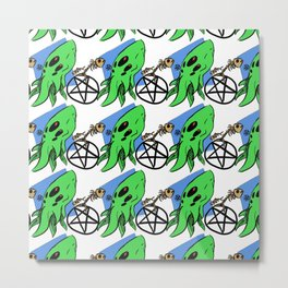 Monster Maddness Metal Print