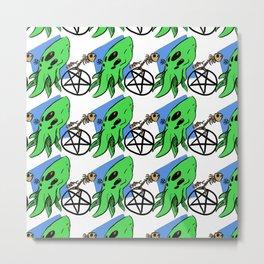 Monster Maddness Metal Print