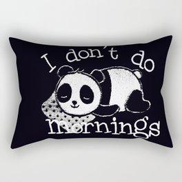 Panda #1 Rectangular Pillow