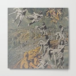 The Rapture - collage Metal Print
