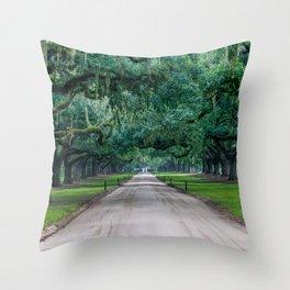Tangled Trees Throw Pillow