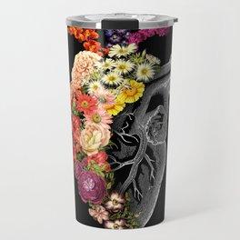Flower Heart Spring Travel Mug