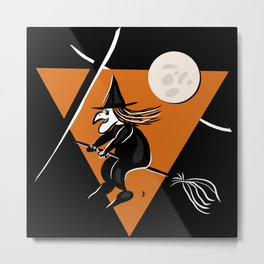Witch - Halloween Collection Metal Print