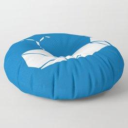 White Whale Floor Pillow