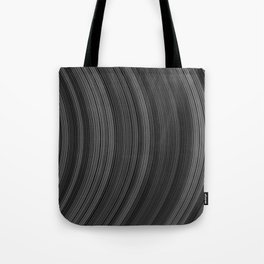 Abstract stripe pattern of ribbon  Tote Bag