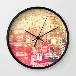 Street of London2 Wall Clock