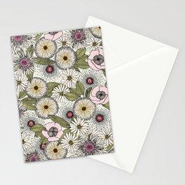 Australian garden chalk Stationery Cards