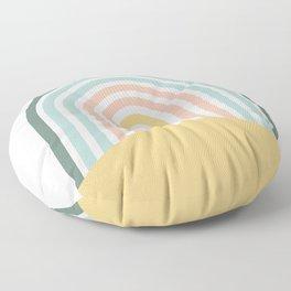 Rainbow Crossing Floor Pillow