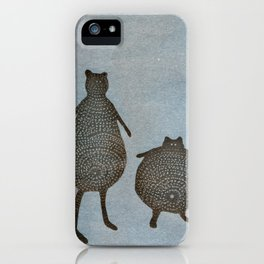 Friends - Two Little Cats iPhone Case