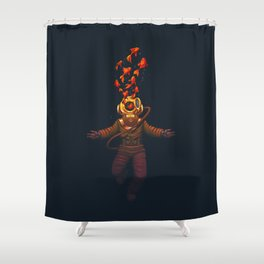 Sea in Me Shower Curtain