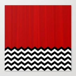 Twin Peaks - The Red Room Canvas Print