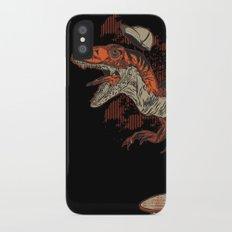 Dino Skate iPhone X Slim Case