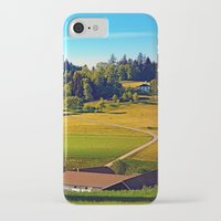 farm iPhone & iPod Cases featuring From farm to farm by Patrick Jobst