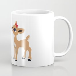 Classic Rudolph and Clarice Coffee Mug