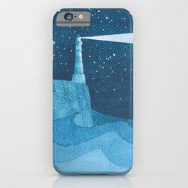 Lighthouse illustration iPhone Case