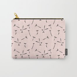Contemporary Paint Flower Dandelion Pattern Carry-All Pouch