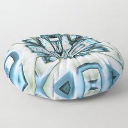 Puzzled Life Floor Pillow