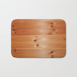 Bath sauna is steamied in a wooden house Bath Mat