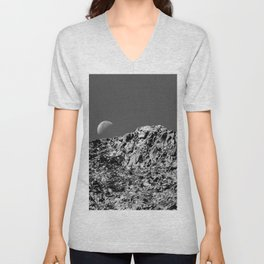 Day Moon Unisex V-Neck