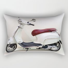 Vespa Motorbike Rectangular Pillow