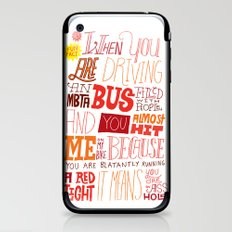 MBTA: Fun Fact! iPhone & iPod Skin