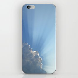 Blessings from above iPhone Skin
