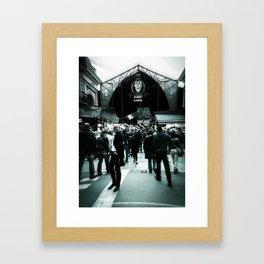 La Boqueria Framed Art Print