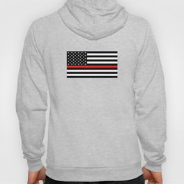 Firefighter: Black Flag & Red Line Hoody