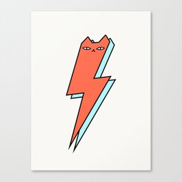 Thunder Cat Canvas Print
