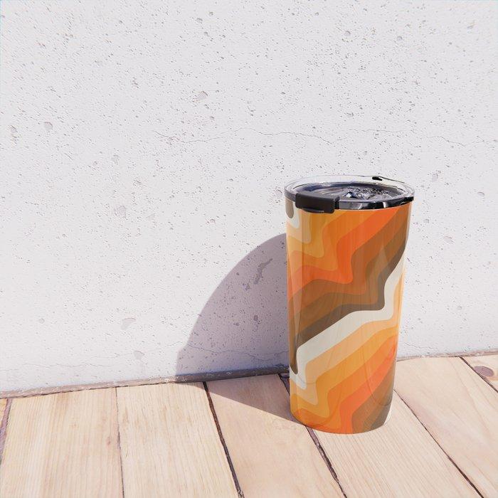 Golden Wave Travel Mug