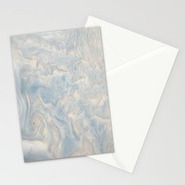 Marble Waves Stationery Cards