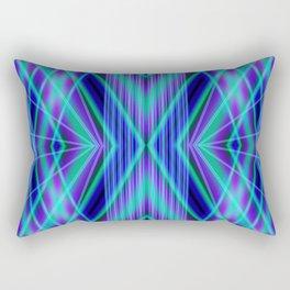 Light Beams and Bars Rectangular Pillow