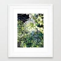 green lantern Framed Art Prints featuring Green Lantern  by MelissaMoffatCollage