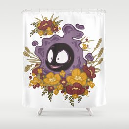 Ghastly Garden Shower Curtain