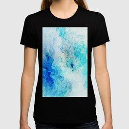 Fluid Colors (Blue/White) T-shirt