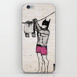 Batman's Laundry iPhone Skin