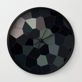 A day in the woods Wall Clock