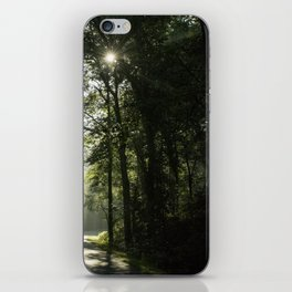 Forest Morning 2 iPhone Skin