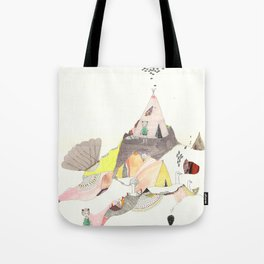 Kids Discover Magic Mountain Tote Bag