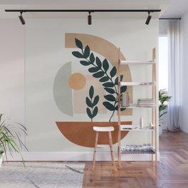 Soft Shapes III Wall Mural