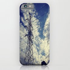 Heavenly spring sky in an industrial world iPhone 6s Slim Case