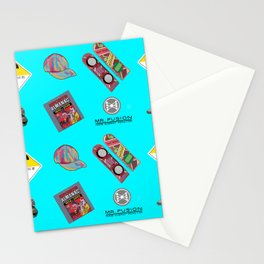 Where we are going we don't need roads Stationery Cards