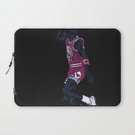 Air Jordan Basketball Payer Art Print and Poster Laptop Sleeve